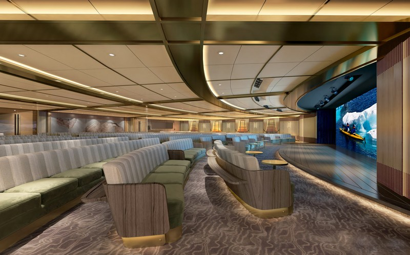 Seabourn expedition ships - Discovery Center rendering