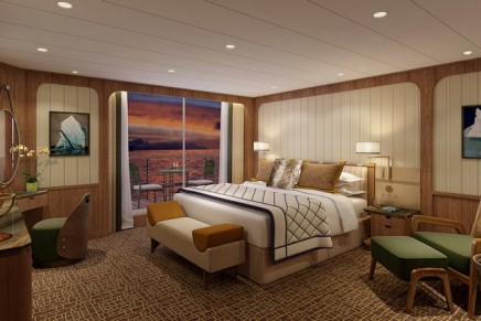 Premium Suites On New Ultra-Luxury Expedition Ships to Have a Built-In Heated Jacket Wardrobe