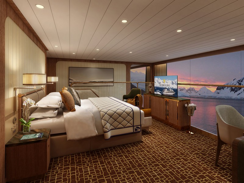 Seabourn expedition ships - Wintergarden Suite (Bedroom)