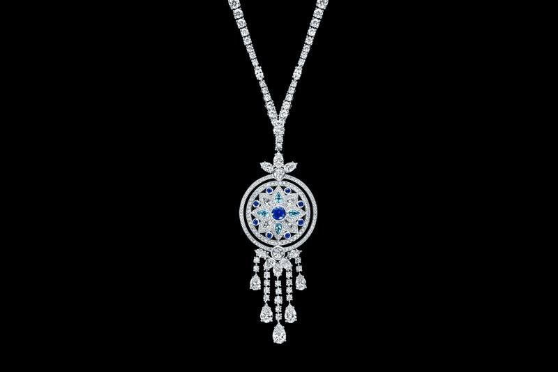 Secret Wonder by Harry Winston, Reversible Diamond, Sapphire and Aquamarine Pendant