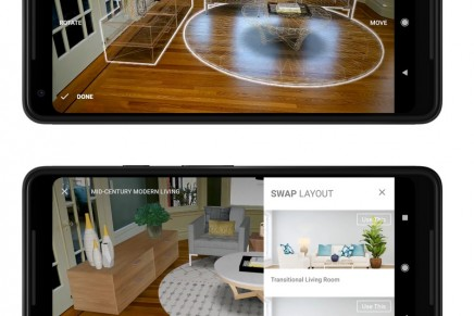 See a luxury house transformed into a home through the magic of mobile augmented reality