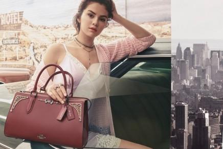 Selena Gomez presents second creative collaboration with Coach