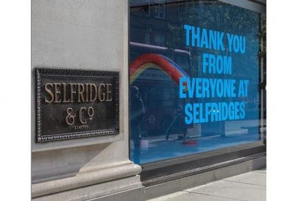 Selfridges seeks to offer 'joyful experience' as stores reopen