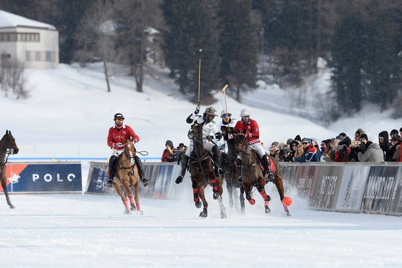 Semi final Snow Polo Cup St Moritz 2019 - Azerbaijan Land of Fire vs Cartier