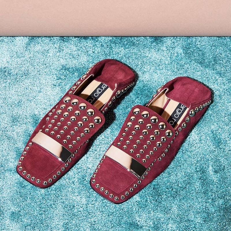 Sergio Rossi SR1 footwear 2017