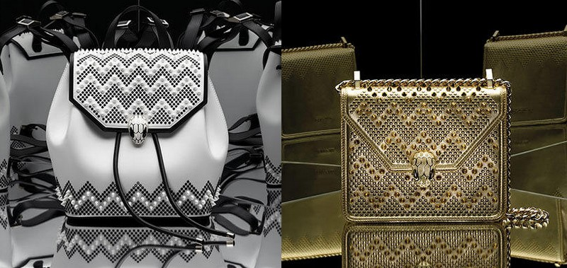 Serpenti Through The Eyes of - British Footwear Designer Nicholas Kirkwood Revisits Bulgari's Bags-
