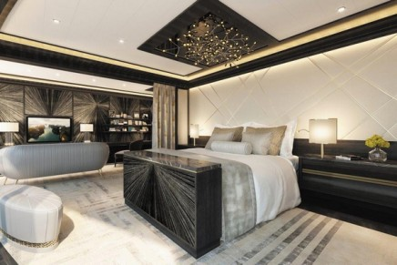 The new most luxurious residence at sea is offered with buttler and personal car with driver in every port