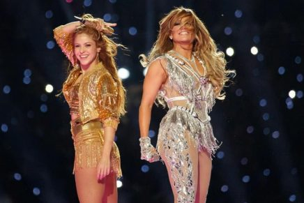 Jennifer Lopez and Shakira Super Bowl performance elevated with bespoke crystallized looks