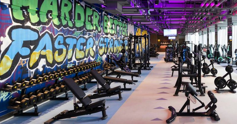 Shangri-La Hotel Jen Beijing - a vibrant space for style-savvy locals and adventurous travellers-the gym