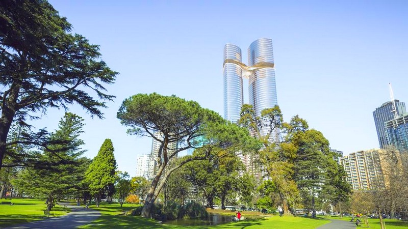 Shangri-La luxury hotel Melbourne CBD
