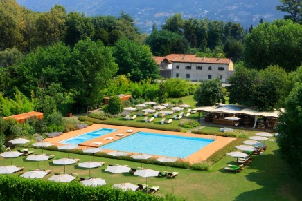 First internationally branded upscale property opens in Italy's world famous lake region