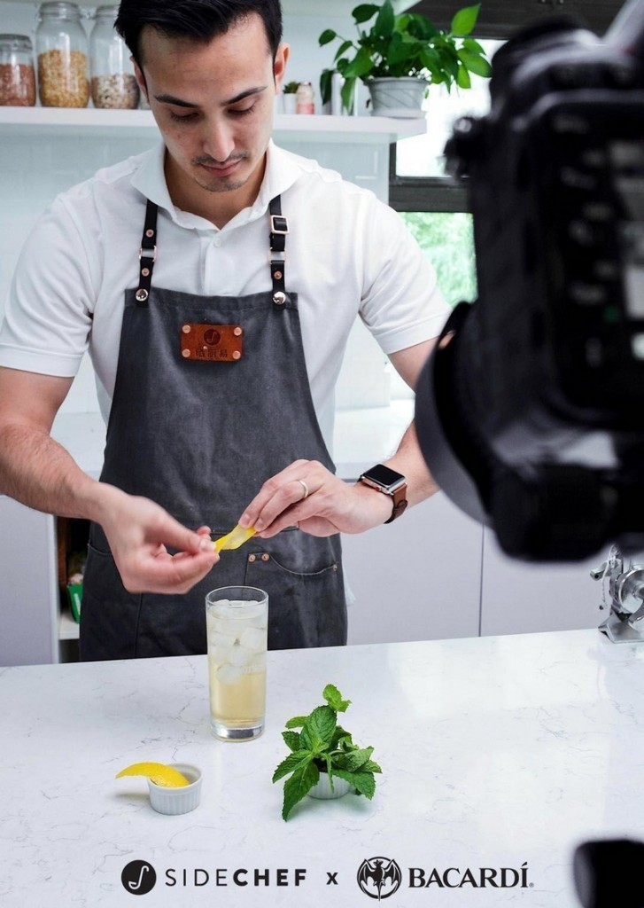 SideChef Collaborates with Bacardi