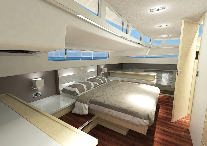 Silent Yacht 55 photos - interior