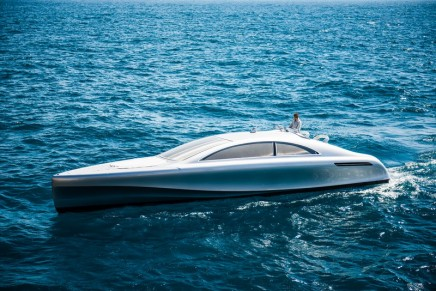 A muscular Silver Arrow of the Seas – the latest chapter in the Mercedes-Benz expansion