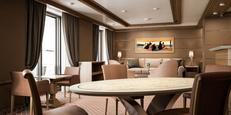 SilverMuse cruise liner - Royal Suite-