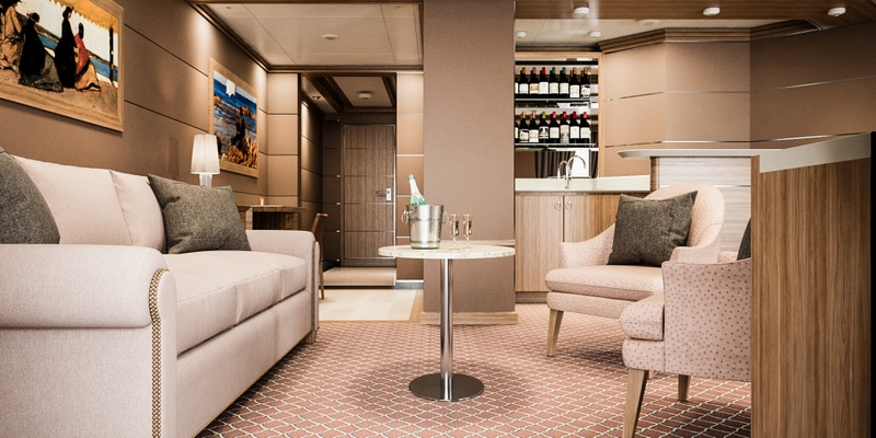 SilverMuse cruise liner - Royal Suite