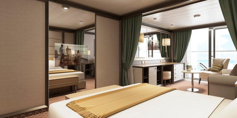 SilverMuse cruise liner - Superior Veranda Suite-