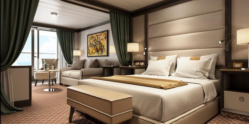 SilverMuse cruise liner - Superior Veranda Suite