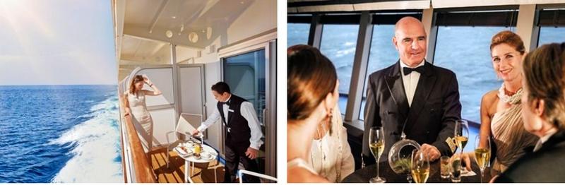 Silversea personalized service
