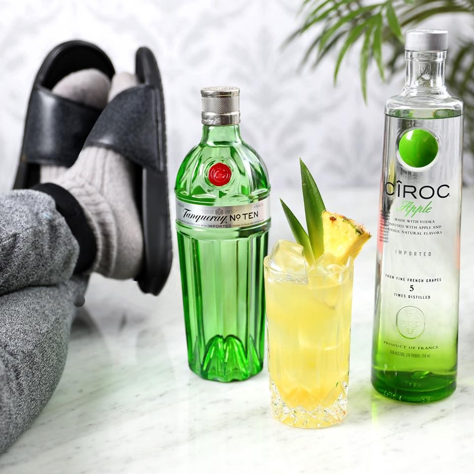 Sip on gin and juice with Snoop Dogg's signature #TanqLaidBack cocktail