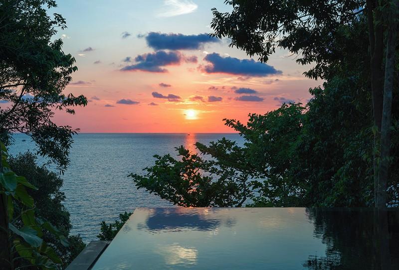 Six Senses Krabey Island Cambodia - the pool
