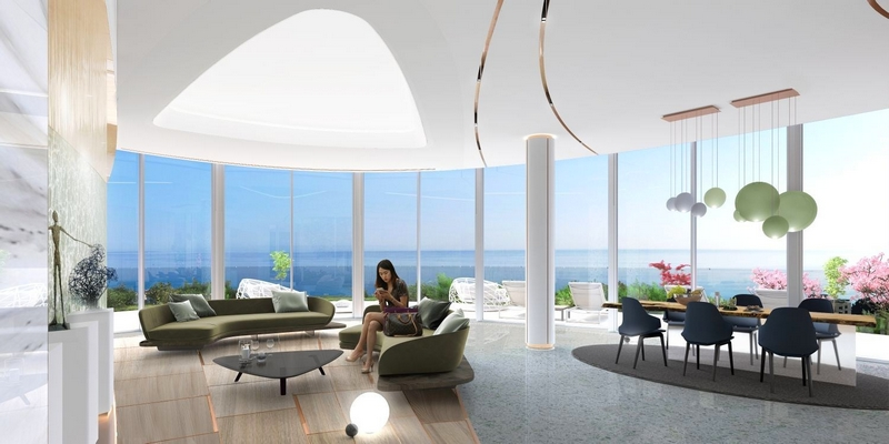 Sixty6 Tower by Pininfarina in Limassol, Cyprus, 17-floors residential tower designed by Pininfarina for Nikhi Group-