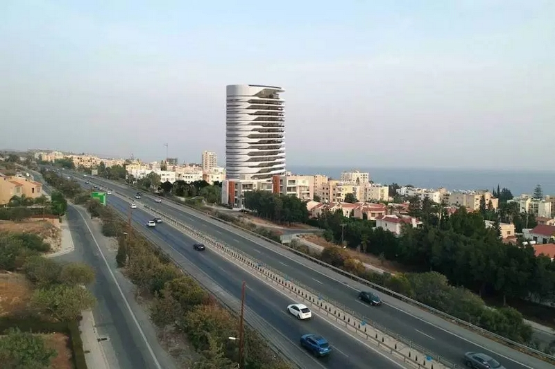 Sixty6 Tower by Pininfarina in Limassol, Cyprus, residential tower designed by Pininfarina for Nikhi Group 2021-