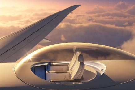 SkyDeck for aircraft to offer 360-degree views while in flight