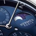 Slim d'Hermès Quantième Perpétuel Platine watch - 2017 Baselworld