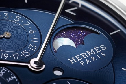 The Slim d'Hermès welcomes a new entirely in-housecrafted model in platinum