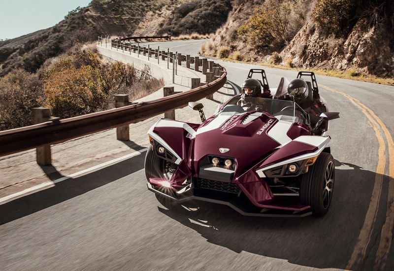 Slingshot three-wheeled roadster launched its newest SL to the lineup
