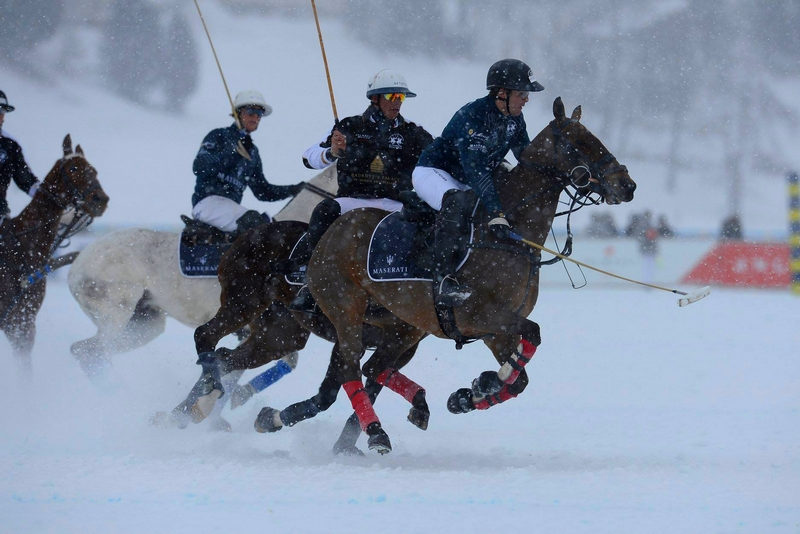 Snow Polo World Cup St Moritz 2019 - Final game - Badrutt's Palace Hotel vs Maserati
