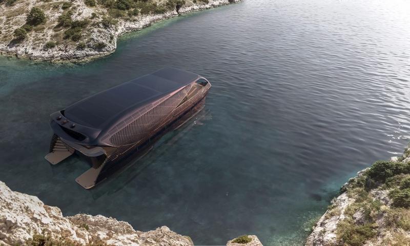 Solar Impact Yacht renderings-