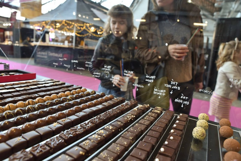 Some highlights from the Salon du Chocolat Brussels show 2019-