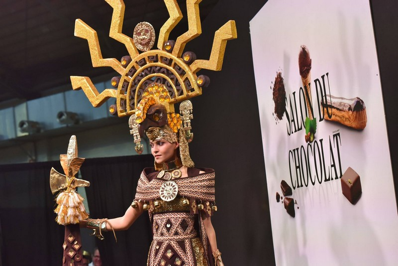 Some highlights from the Salon du Chocolat Brussels show 2019-01