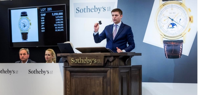Sotheby's Important Watches auction in Geneva - November 2018