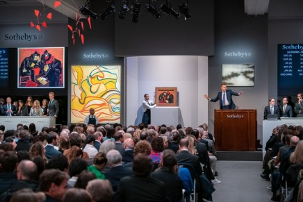 Auction history was made throughout November and around the globe