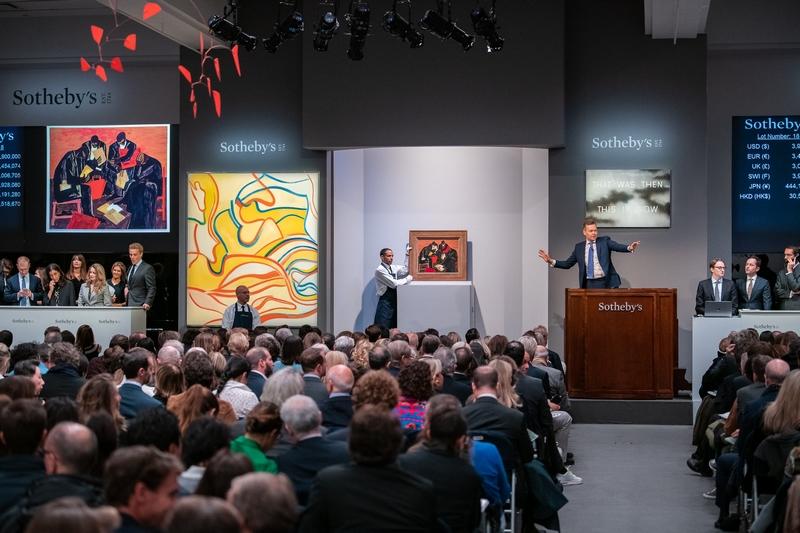 Sothebys November auction history 2018