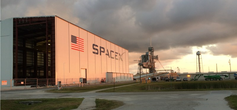 SpaceX facilities
