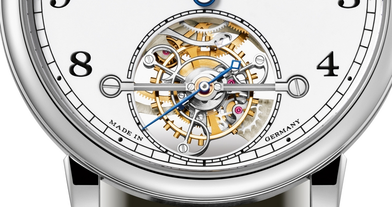 Special edition of A. Lange & Söhne's first tourbillon watch with stop seconds and ZERO-RESET-