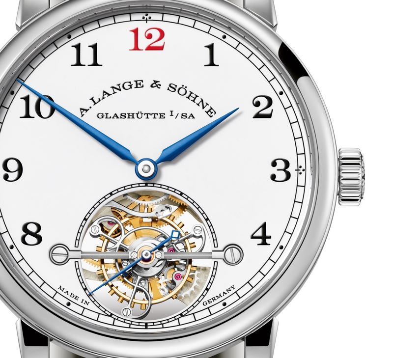 Special edition of A. Lange & Söhne's first tourbillon watch with stop seconds and ZERO-RESET-02