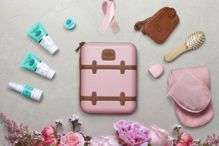 Think Pink!: Qatar Airways launches special pink luxury amenity kits