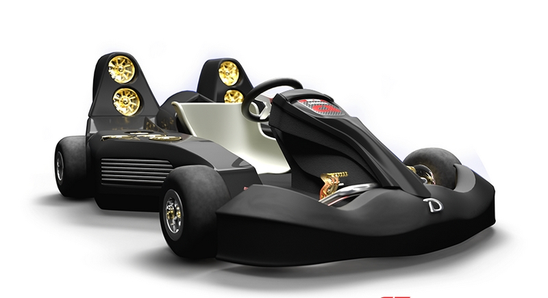 Speed has a new name with the fastest electric go-kart in the world