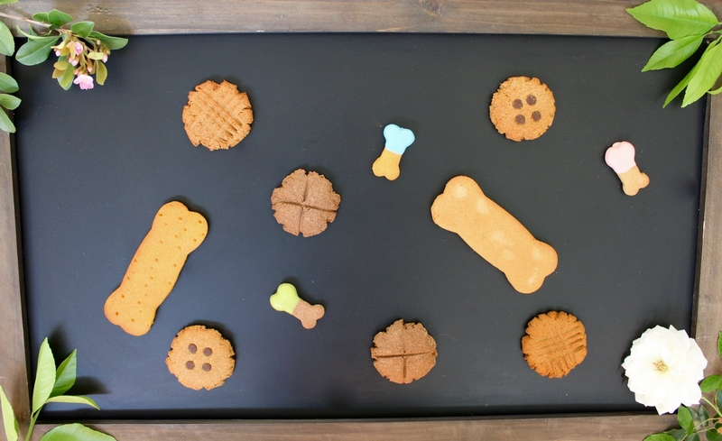 Spoil your favorite dog with The Dog Bakery's half dozen dog treats