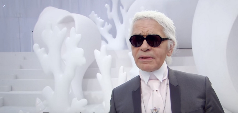 Spring-Summer 2012 Ready-to-Wear- Karl Lagerfeld's Interview - CHANEL