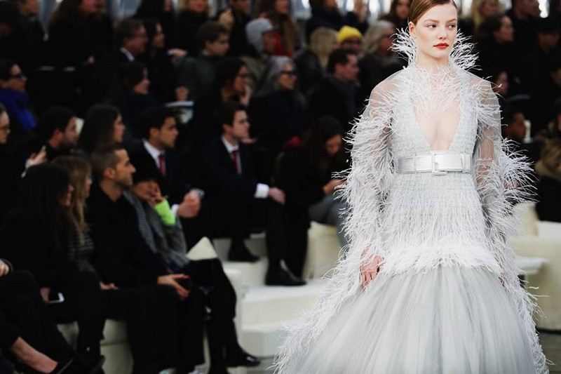 Spring-Summer 2017 Haute Couture show, presented at the Grand Palais in Paris-