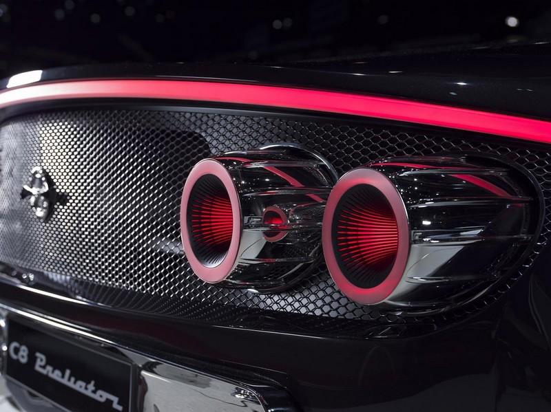 Spyker at 2017 Geneva Motor Show- Spyker C8 Preliator Spyder - details