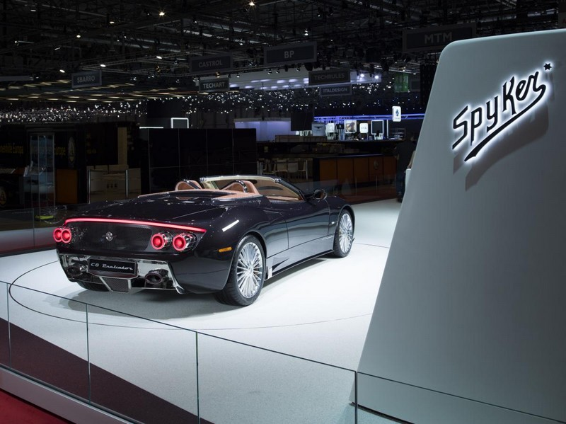 Spyker at 2017 Geneva Motor Show- Spyker C8 Preliator Spyder - rear