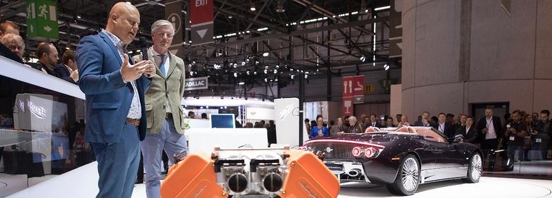 Spyker at 2017 Geneva Motor Show- Spyker C8 Preliator Spyder