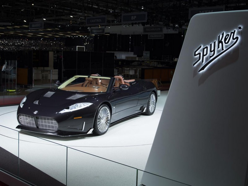 Spyker hand-built sportscars to be propelled by the new Koenigsegg engine